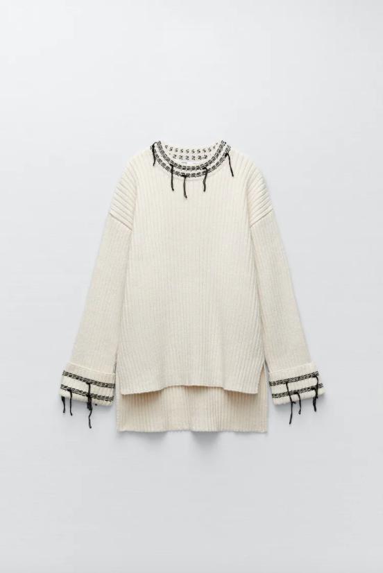 Con chaleco o con jersey-El conjunto de punto de Zara que sienta de maravilla y te va a solucionar tus looks de entretiempo